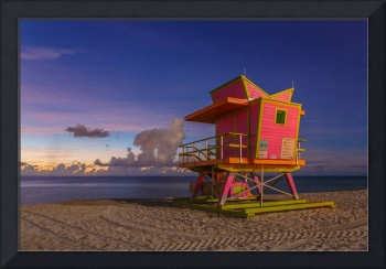 46th Street Lifeguard Tower at Twilight III