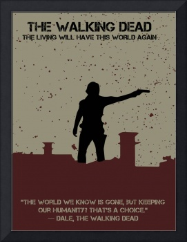 The Walking Dead Minimalist Movie Poster