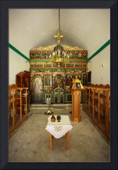 Church Alter, Skinousa, Greece