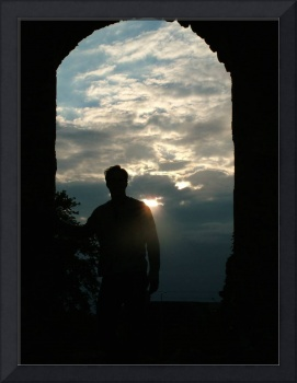 Silhouette in Ireland