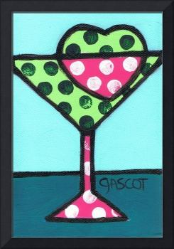 Polka-dotted Appletini