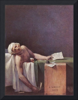 The Murdered Marat by Jacques Louis David