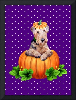 Airedale Terrier Halloween Dale-O-Lantern