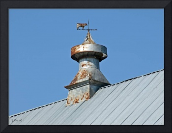 Americana~ Cow weather Vane