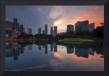 Sunrise at KLCC Park