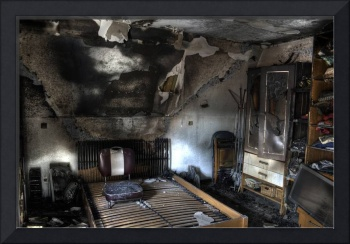 A-Room-with-Fire-Damage-on-Oklahoma-City