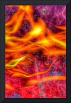 Fire Abstract #1 on12 November 2018