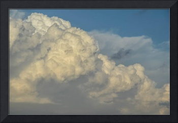 Clouds  sky nature power storm fluffy blue