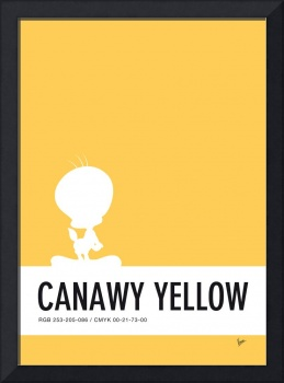 No18 My Minimal Color Code poster tweety