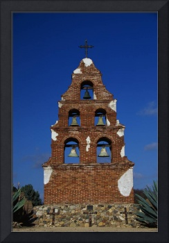 Bell Tower at San Miguel Mission