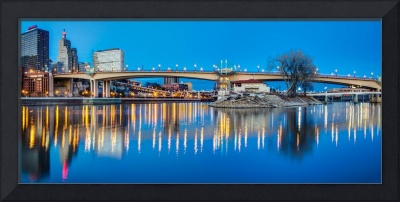 Wabasha Bridge at Dusk