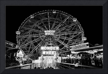 WORLD FAMOUS CONEY ISLANDS WONDER WHEEL