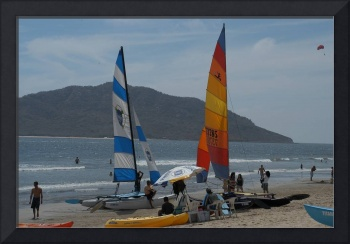 Mazatlan Sails on the Beach