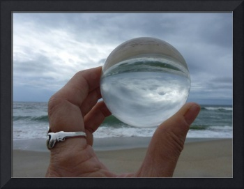 Reflection on Kure Beach, Dee Oberle