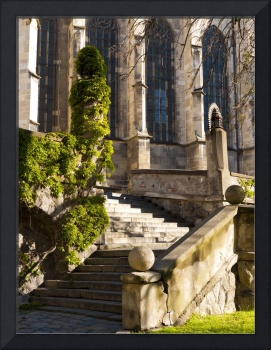 Stairway to St. Martin's Cathedral
