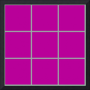Violet Window 186 Canvas Contemporary Modern