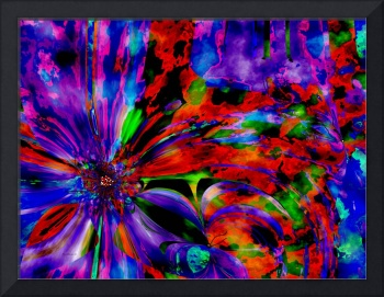 purple flower overlay large