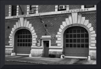 Brooklyn Firehouse Double Doors 2001 BW