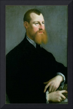 Portrait of a man with a ginger beard, 16th centur