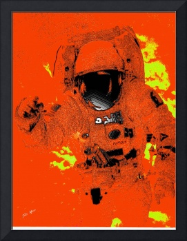 Plastic Astronaut in Orange