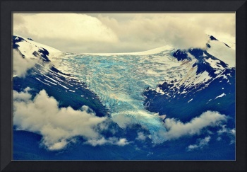 Glacier seen enroute to the Tracy Arms Fjord.