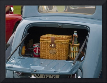 Picnic for Car and Owner- Still in Boot