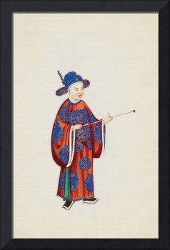 Canton. 19th century, Traditional chinese folks 3