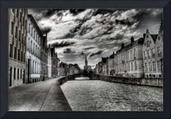 Haunted City, Brugge HDR