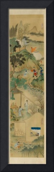 EIGHT DEPICTIONS OF FILIAL PIETY. china