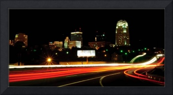 Winston-Salem Night Skyline