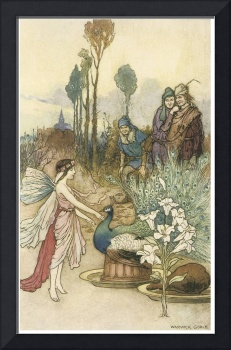 Instead of Crust, a Peacock Pie by Warwick Goble