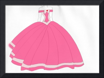 Pink Fantasy Dream Gown Design