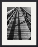 Gulf Fishing Pier, Fulton, Texas III by Dave Wilson