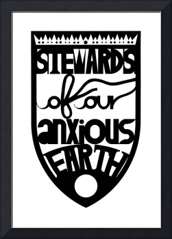 stewards of our anxious earth (black)