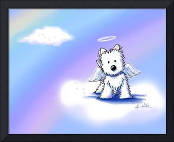 Westie Angel At Rainbow Bridge