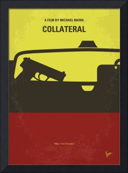 No691 My Collateral minimal movie poster