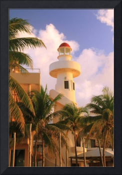 Lighthouse in Playa Del Carmen, Mexico