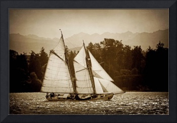 Schooner Sailboat