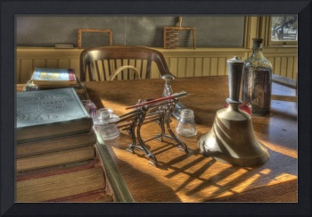 Old Fashioned School Teachers Desk, Coloma
