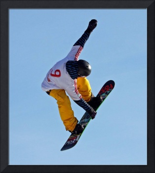 The Yellow Snowboarder