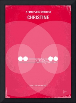 No016 My Christine minimal movie poster