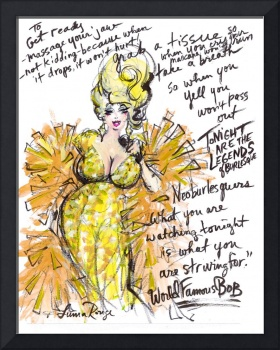 Burlesque Legend by Luma Rouge