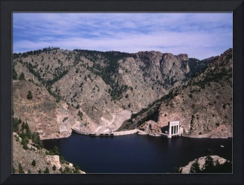 Colorado Lake And Dam