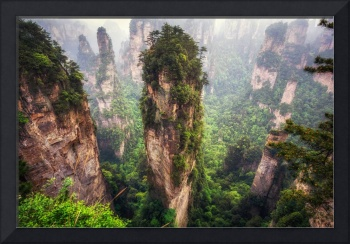 zhangjiajie hallelujah mountains