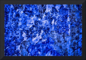 Abstract in Blues #1 on 1 February 2018