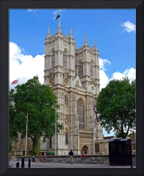 Westminster Abbey From Side Street