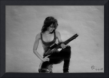 Sarah Connor Chronicles drawing