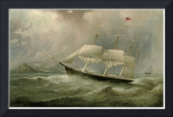Black Ball Line Clipper Ship Ocean Chief