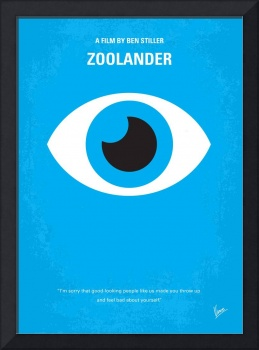 No362 My Zoolander minimal movie poster