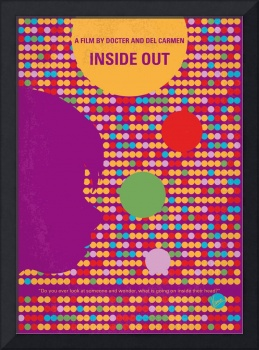No664 My Inside Out minimal movie poster